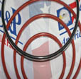 PTFE Encapsolated O-Rings